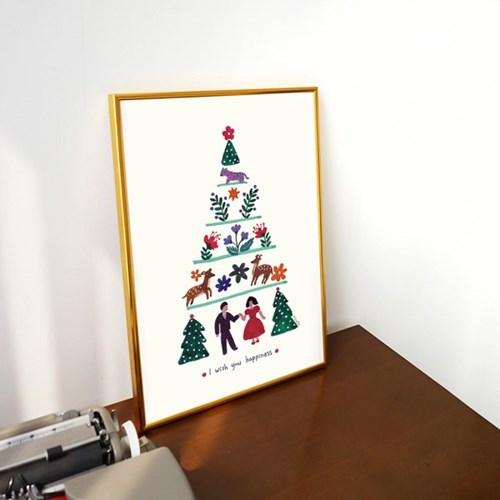 토도비엔 크리스마스엽서 모음