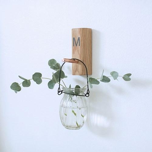 오크원목 벽후크(oak)
