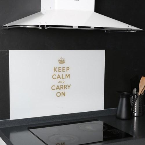 아트보드_ keep calm_화이트