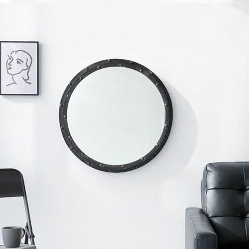 마켓비 PECRE 빈티지 원형거울 65cm PC0093MR
