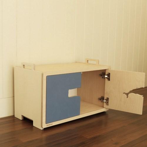 Blokk Cabinet Whale