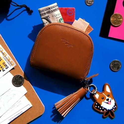 [위글위글]Card Wallet 카드지갑+키참SET