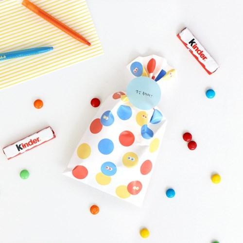 코니테일 기프트팩 M (어린이집 생일선물 답례품포장지)