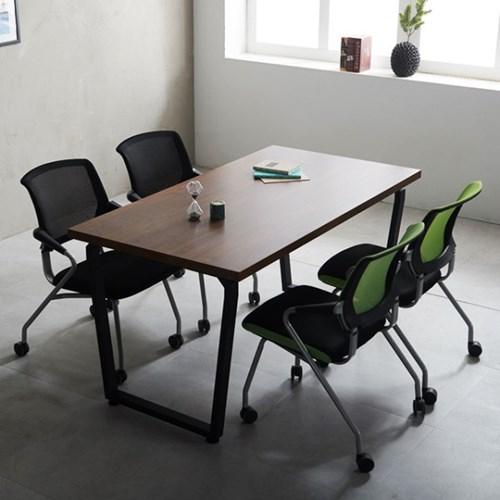 책상 다이아 1500 테이블 국산 4인미팅 사무용 회의용_(2186829)