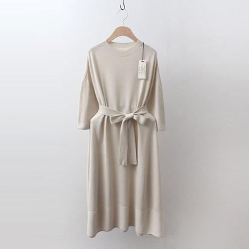 Hoega Wool Flare Long Dress