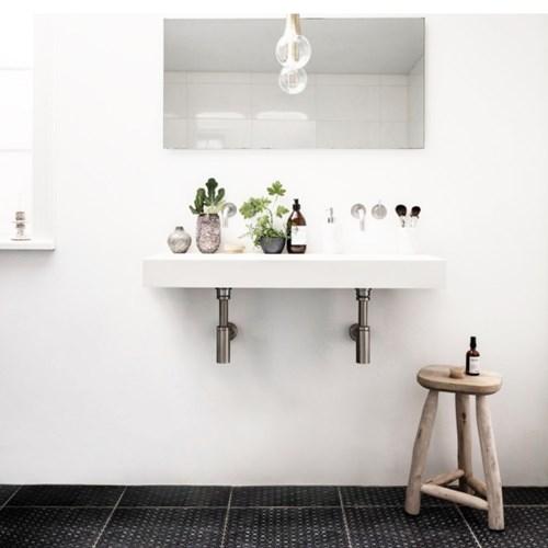 순수 내추럴 나무 스툴 / 노르딕 디자인