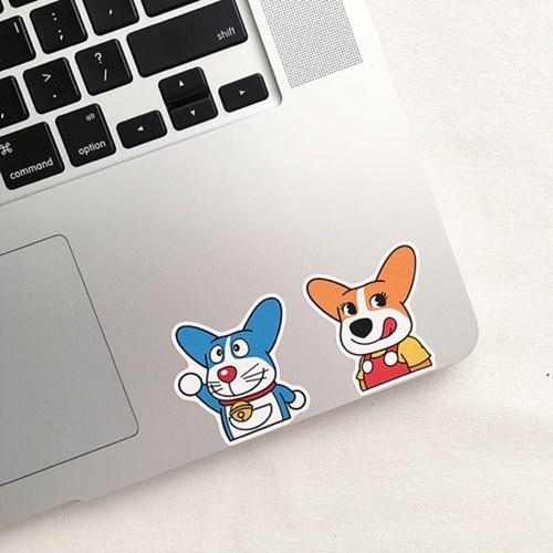 코기맨 Parody Sticker Ver.1