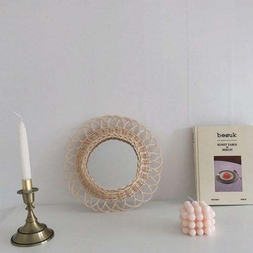 [텐텐클래스] (광주) 손 끝으로 만든 라탄거울 클래스