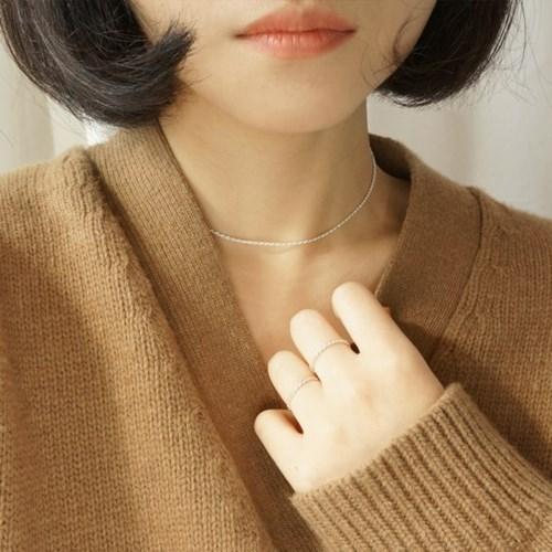 Tweed Necklace