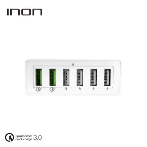 아이논 퀵차지3.0 6포트 USB 고속 멀티충전기 IN-UC620