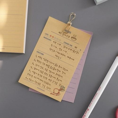 [메이크-어-메모] 메모패드 24종