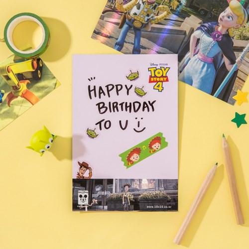 [디즈니] 토이스토리4 홀로그램 엽서