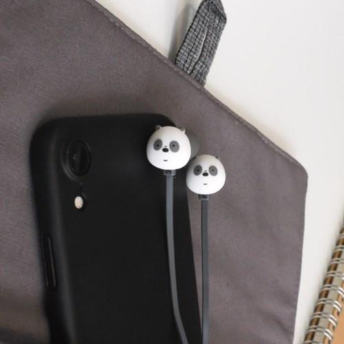 위베어베어스 3D 페이스 이어폰