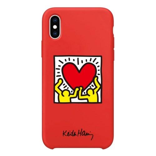 스키누 x Keith Haring 컬러젤리케이스