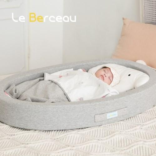 젤리맘르베르소 신생아침대4종set(아기침대+에어매트+스트랩+블랭킷)