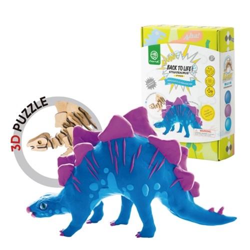 해피플레이 로버드 3D입체퍼즐 공룡 클레이 만들기 장난감