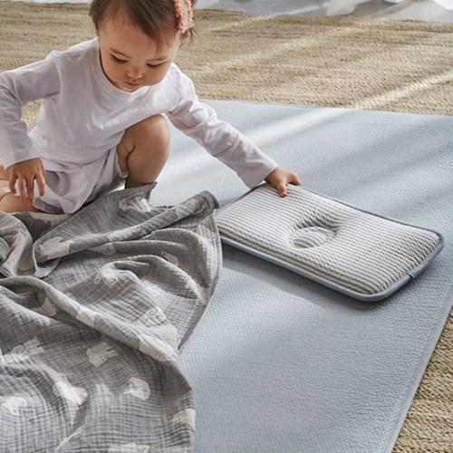 민트블루 선염 3D매쉬 여름 낮잠이불세트