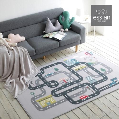 에시앙 3D 에어메쉬 도로매트 놀이매트 (사각/L size)_(825241)