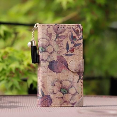 아이폰XS Wood-Oliva-T 우드 지갑 다이어리 케이스