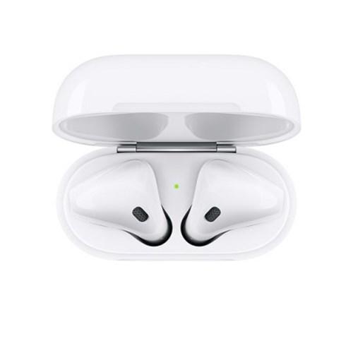 애플 정품 블루투스 이어폰 에어팟 AirPods2 유선 충전(MV7N2KH/A)