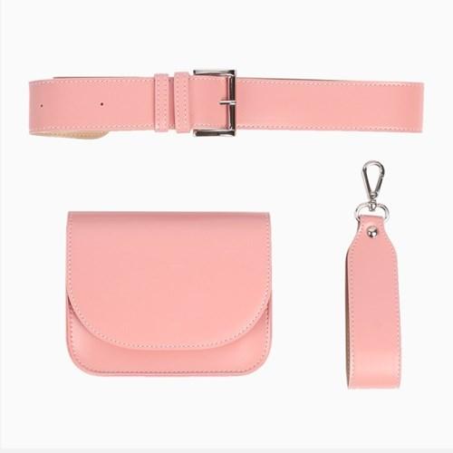 유니카 클러치&크로스백 핑크