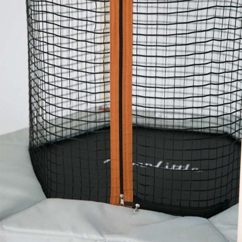 맘앤리틀 유아 안전망 트램폴린 마카롱점폴린 55인치(140cm) 2~3인용