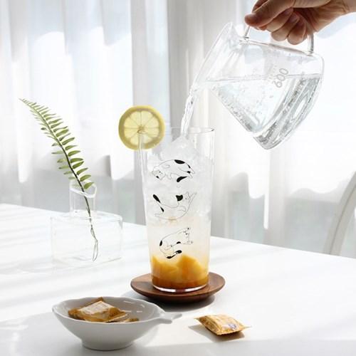 슬리핑캣 아이스컵