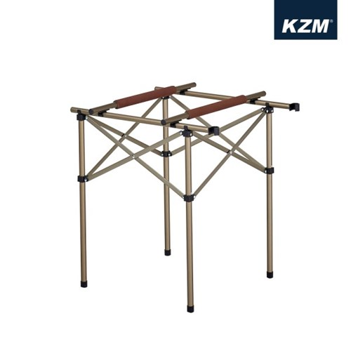 카즈미 트윈 스토브 스탠드 K8T3U004 / 캠핑용품 캠핑 키친테이블 버