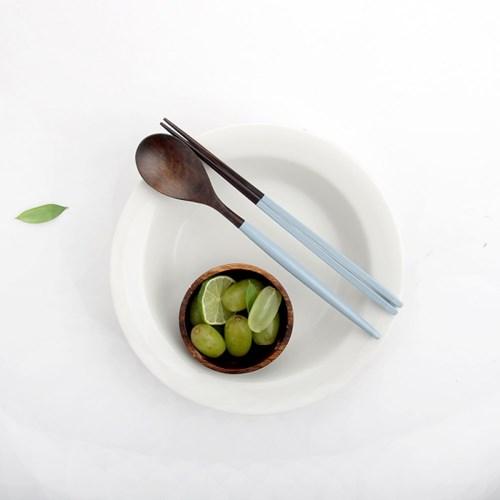 마카롱 천연 옻칠 수저세트- 프리미엄 (5color)
