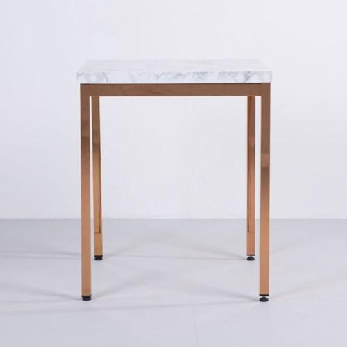 [가구느낌] LPM 600사각 로즈골드 30각 티테이블 카페_(962784)