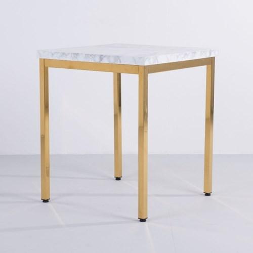 [가구느낌] LPM 600사각 골드 30각 티테이블 카페 2인_(962782)