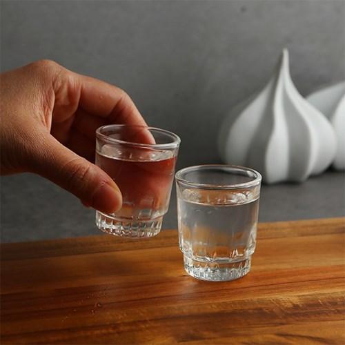 럭키글라스 스텔라 샷글라스 유리컵 38ml