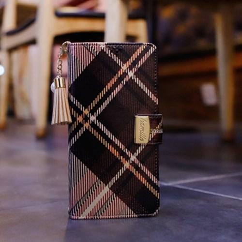 LG X6 2019 (LG X625) Encanto-Clasica-T 지퍼 지갑 다이어리 케이스