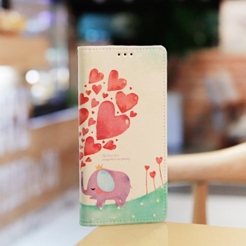 LG X6 2019 (LG X625) Ventosa-LoveingU 수제 지갑 다이어리 케이스