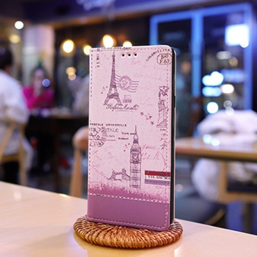 LG X6 2019 (LG X625) Ventosa-Vint 수제 지갑 다이어리 케이스