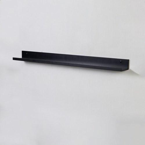 우드 레일 인테리어 북선반 900-화이트 블랙 (2색상)