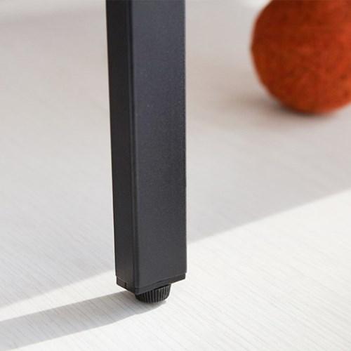 마켓비 MOBLAC 선반 600 넓은 4단 블랙_(103358538)