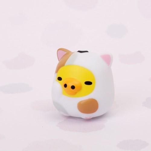 리락쿠마 랜덤피규어2 게으른 고양이 (박스)
