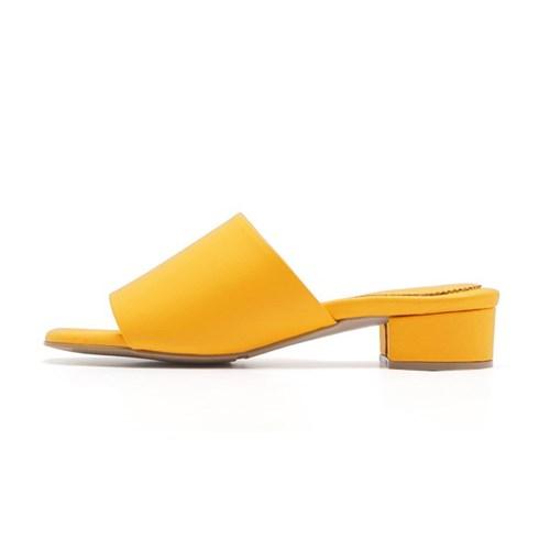 YJ0018 Crayon Mule Yellow_3cm (소가죽)