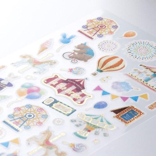 Sticker Marche - Amusement Park