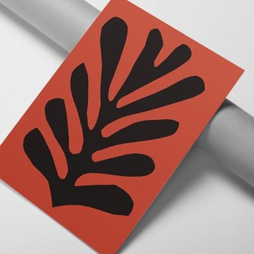 레드리프 앙리마티스 그림 액자 드로잉 인테리어 포스터