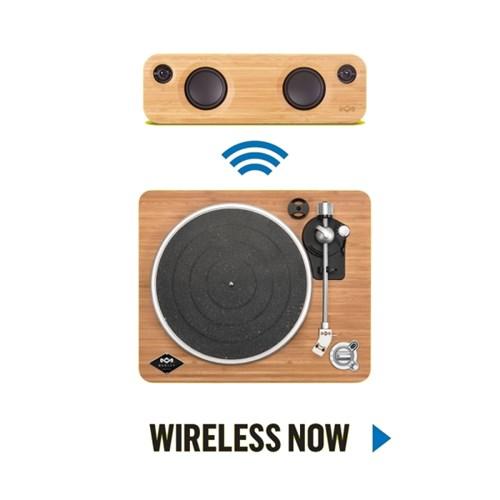 MARLEY Stir It Up wireless 블루투스 턴테이블
