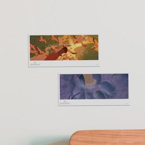 디즈니 라이온킹 엽서 세트 2종