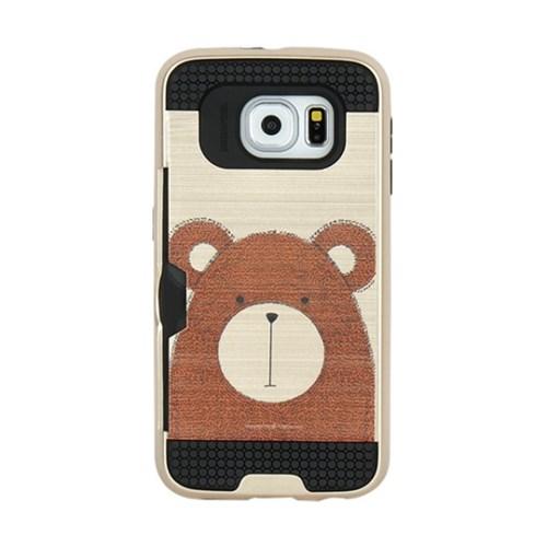 아이폰7 Obli-Bear 카드 범퍼 케이스_(2274905)
