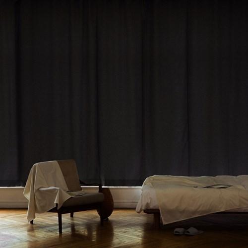 꿀잠을 부르는 암막 커튼 (140x230) 1장 (차콜그레이)