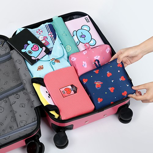 [BT21] EASY CARRY FOLDING BAG 이지 캐리 폴딩백_(877314)