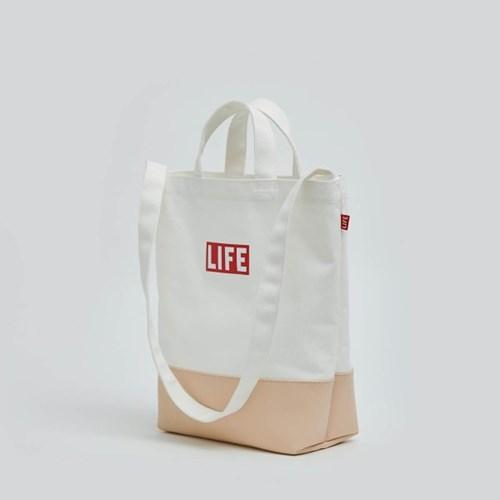 LIFE 2WAY TOTE BAG_BEIGE_(1424726)