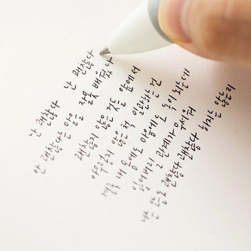 일러스트 4색 볼펜 ver.2