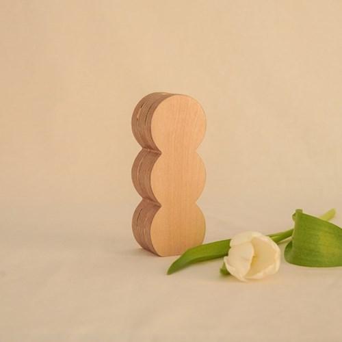 오니프 우드 화병 꽃병 onif vase 02