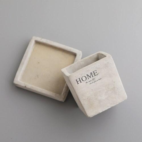 홈 시멘트 인테리어 화분